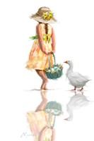 Easter Goose 1 Fine Art Print