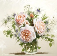 Old Roses Fine Art Print