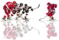 Ice Hockey 2 Fine Art Print