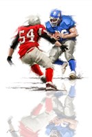 American Football 2 Fine Art Print
