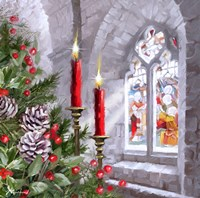 Church Window 1 Fine Art Print