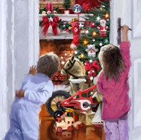 Christmas Morning Fine Art Print