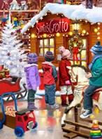 Santas Grotto 2 Fine Art Print