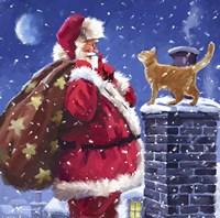 Santa 8 Fine Art Print