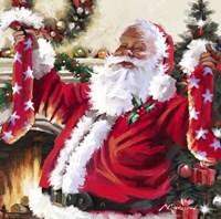Santa 9 Fine Art Print