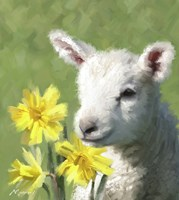 Easter Lamb Fine Art Print