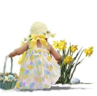Easter Egg Hunt Fine Art Print