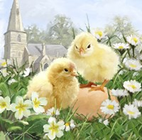 Easter Chicks 2 Fine Art Print