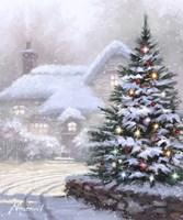 Christmas Lane Fine Art Print