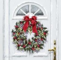 Traditional Wreath Fine Art Print