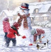 Frosty Fine Art Print