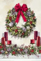 Xmas Wreath Fine Art Print