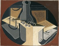 Still Life with Bottle by Juan Gris - various sizes