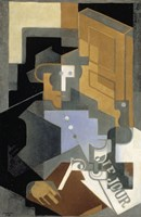 Le Tourangeau [Man from the Touraine], 1918 by Juan Gris, 1918 - various sizes