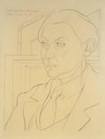 Portrait of Daniel-Henry Kahnweiler, 1921 by Juan Gris, 1921 - various sizes