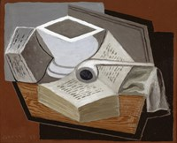 The Open Book, 1925 by Juan Gris, 1925 - various sizes