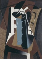 Still Life on a Chair, 1917 by Juan Gris, 1917 - various sizes