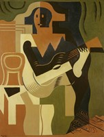 Harlequin with Guitar, 1919 by Juan Gris, 1919 - various sizes