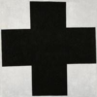 Black Cross, 1923 by Kazimir Malevich, 1923 - various sizes