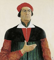Perfected Portrait of Ivan Kljun, 1913 by Kazimir Malevich, 1913 - various sizes