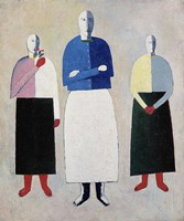 """Composition with """"""""La Gioconda"""""""", 1914 by Kazimir Malevich, 1914 - various sizes"""