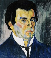 Selfportrait Tempera by Kazimir Malevich - various sizes