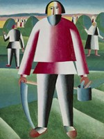 Hay Harvest by Kazimir Malevich - various sizes