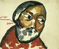 Study of a Peasant, 1911 by Kazimir Malevich, 1911 - various sizes