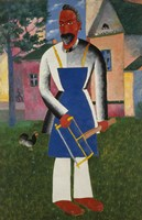At the Dacha [Country Home], C. 1928 by Kazimir Malevich, 1928 - various sizes