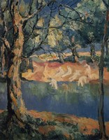 River in the Woods, Late 1920s by Kazimir Malevich, 1920s - various sizes, FulcrumGallery.com brand