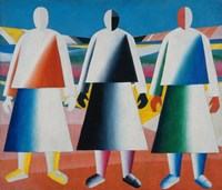 Girls in the Field, 1928 by Kazimir Malevich, 1928 - various sizes