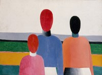 Three Female Figures, 1928 by Kazimir Malevich, 1928 - various sizes
