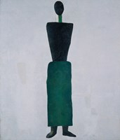 Female Figure, 1928 by Kazimir Malevich, 1928 - various sizes