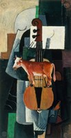Bull and Violin, 1903 by Kazimir Malevich, 1903 - various sizes