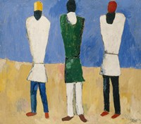 Peasants, 1928 by Kazimir Malevich, 1928 - various sizes - $15.99