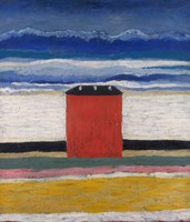 Red House, 1932 by Kazimir Malevich, 1932 - various sizes