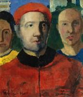 Triple portrait, 1933 by Kazimir Malevich, 1933 - various sizes