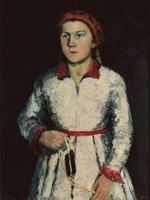 Una Kazimirovna Uriman-Malevich, 1934 by Kazimir Malevich, 1934 - various sizes - $15.99