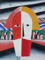 Head of a Peasant, 1928 by Kazimir Malevich, 1928 - various sizes