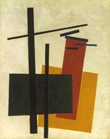 Yellow, Orange, Green 1915 by Kazimir Malevich, 1915 - various sizes