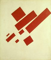 Eight Red Rectangles, 1915 Fine Art Print