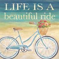 Beautiful Ride I Framed Print