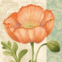 Pastel Poppies II Fine Art Print