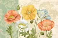 Pastel Poppies Multi Landscape by Pamela Gladding - various sizes