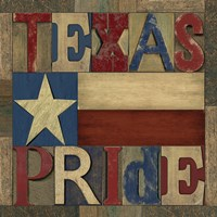 Texas Printer Block II by Tara Reed - various sizes - $16.99