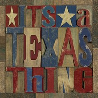 Texas Printer Block III by Tara Reed - various sizes - $16.99
