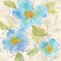 Blue Poppy Garden II by Cynthia Coulter - various sizes