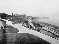 Juneau Park and Lake Michigan, Milwaukee Fine Art Print