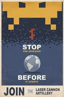 Stop the Invasion Fine Art Print