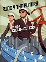 Cyclo Citizen Fine Art Print
